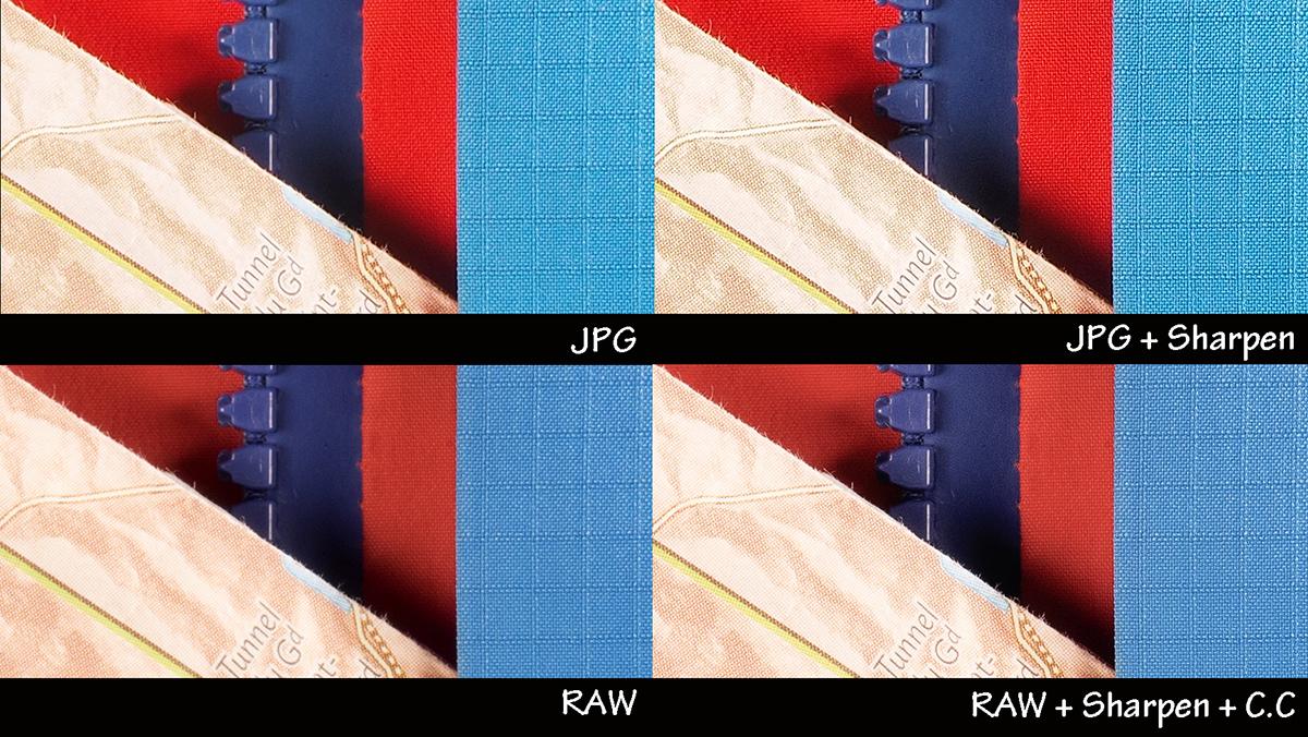 RAW срещу JPG